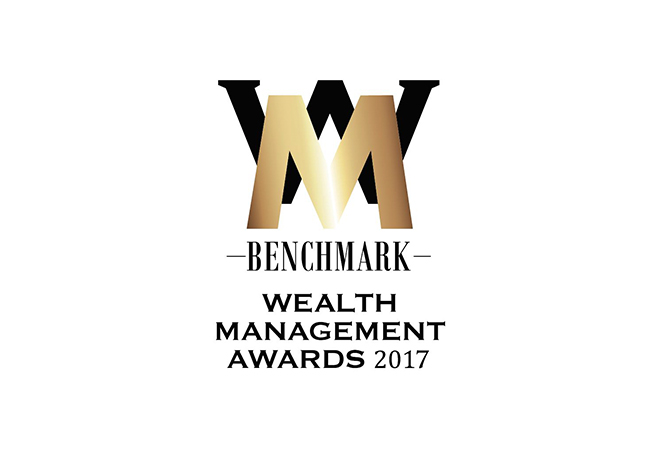 BENCHMARK Wealth Management Awards 2017